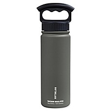 image of FIFTY/FIFTY 18 oz. Vacuum-Insulated Water Bottle with 3-Finger Grip Lid