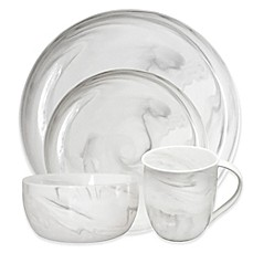 image of Artisanal Kitchen Supply® Coupe Marbleized Dinnerware