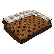 image of MyPillow® Cotton/Poly Medium Pet Bed in Brown