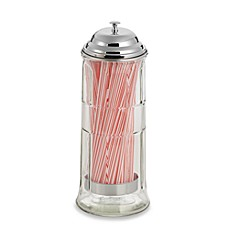image of TableCraft® Straw Dispenser with Straws