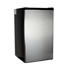 image of Midea 4.4 cu. ft. Mini Refrigerator in Stainless Steel