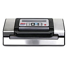image of Nesco® Deluxe Vacuum Sealer in Stainless Steel/Black