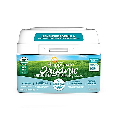 Happy Baby Stage 1 Organic Sensitive Infant Formula