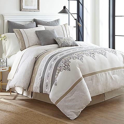 air jordan 12 gray and white comforter