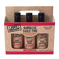image of Just Grillin 3-Pack BBQ Set