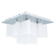 image of EGLO USA Condrada Semi-Flush Mount Ceiling Light in Chrome