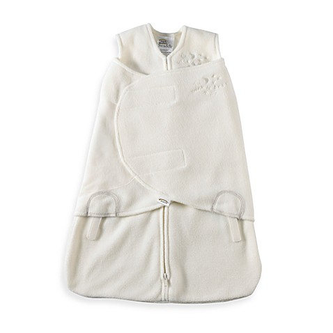 HALO® SleepSack® Small Multi-Way Micro-Fleece Swaddle in Cream
