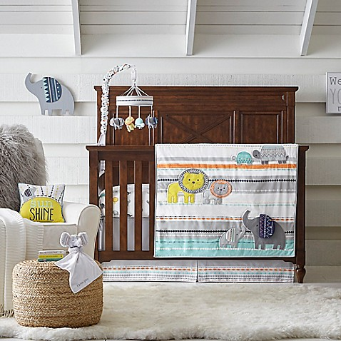 Wendy Bellissimou0026trade; Sawyer Jungle Crib Bedding Collection