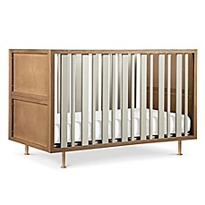 image of Nursery Works Novella 4-in-1 Convertible Crib in Ash/Ivory