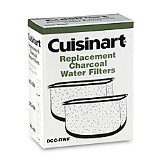 image of Cuisinart® Replacement Charcoal Water Filters (Set of 2)