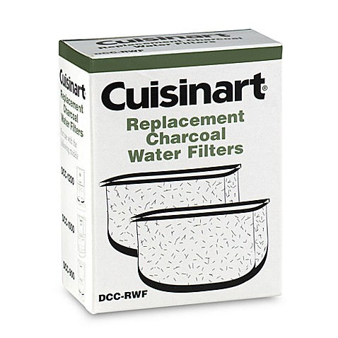 cuisinart replacement charcoal water filters set of 2 bed bath beyond. Black Bedroom Furniture Sets. Home Design Ideas