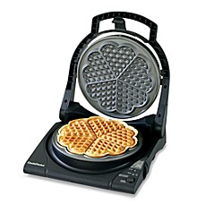 image of Chef'sChoice® WafflePro Five of Hearts Electric Waffle Maker