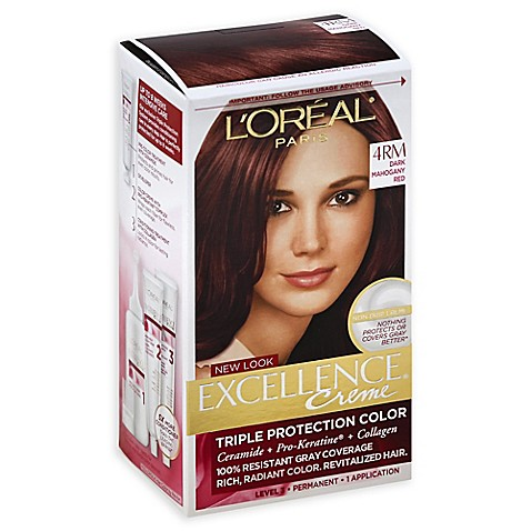 L 39 Oréal Reg Paris Excellence Creme Triple Protection Hair Color In 4rm
