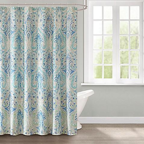 Echo Ravi Shower Curtain in Blue - Bed Bath & Beyond