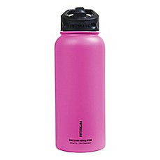 image of FIFTY/FIFTY 34 oz. Double Wall Vacuum-Insulated Straw Lid Water Bottle