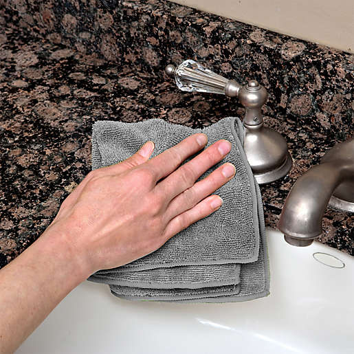 The Original™ Microfiber Cleaning Towels in 10 Pack. View a larger version of this product image.