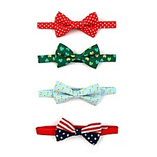 image of Rising Star™ 4-Pack Spring Holiday Bowties