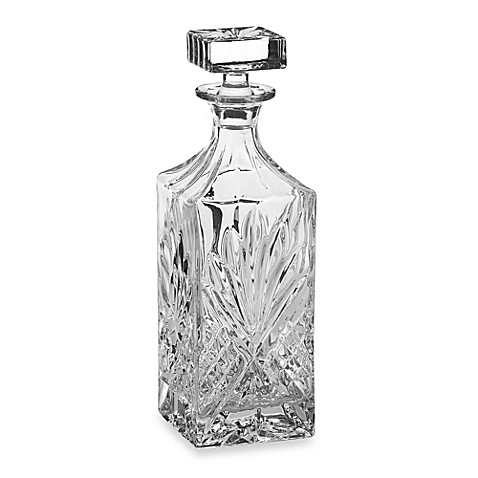 Godinger Dublin Crystal 25 Ounce Decanter Bed Bath Amp Beyond