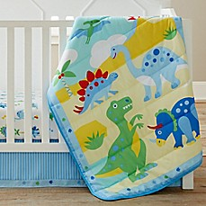 image of Olive Kids Dinosaur Land 3-Piece Crib Bedding Set