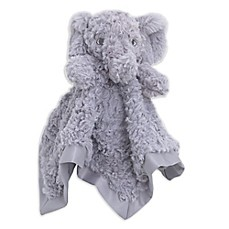 image of Cuddle Me Elephant Security Blanket in Grey