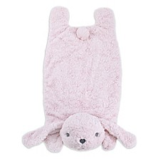 image of Cuddle Me Bunny Tummy Time Mat in Pink