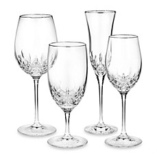 image of Waterford® Lismore Essence Platinum Crystal Stemware