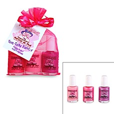 image of Piggy Paint™ Toe-Tally Fancy Nail Polish Gift Set (Set of 3)