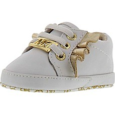 image of Michael Kors® Gold Wings Baby Rail Infant Sneaker in White
