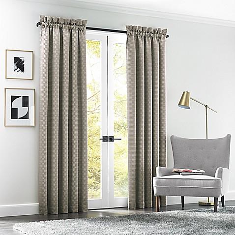 J Queen New York Arlo Rod Pocket Window Curtain Panel Pair Bed Bath Beyond
