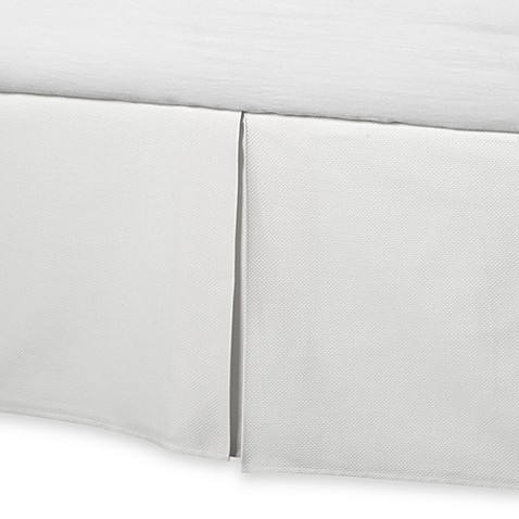 Barbara Barry 174 Perfect Pique Bed Skirt Bed Bath Amp Beyond
