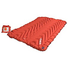 image of Klymit Double V Inflatable Sleeping Mat in Orange