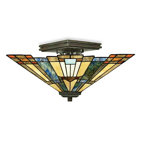 Quoizel®  Inglenook Small Semi Flush Mount