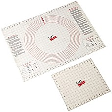 image of CakeBoss™ Decorating 2-Piece Roll & Cut Mat Set in Off White