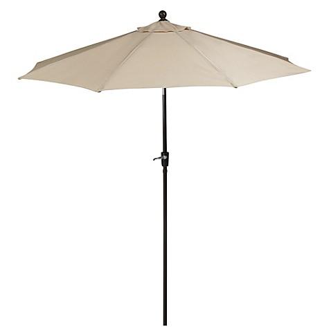 9 Foot Outdoor Round Umbrella With Aluminum Frame In