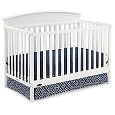 image of Graco® Benton 5-in-1 Convertible Crib in White