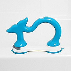 image of Regalo® Whale Bath Safety Rail in Blue