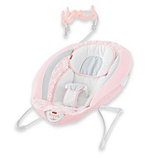 image of Fisher-Price® Pearl Chandelier Deluxe Bouncer