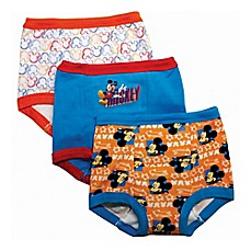 image of Disney® 3-Pack Mickey Mouse Training Pant