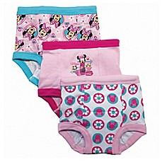 image of Disney® 3-Pack Minnie Mouse Training Pant