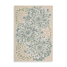 image of Nourison Fantasy Hand Hooked Rug in Light Green