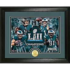 image of NFL Philadelphia Eagles Super Bowl 52 Champions Team Force Photo Mint