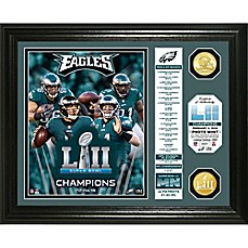 image of NFL Philadelphia Eagles Super Bowl 52 Champion Banner Photo Mint