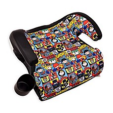 image of KidsEmbrace® DC Comics™ Justice League Chibi Backless Booster Car Seat