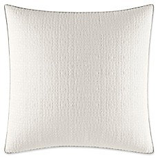 image of Nautica® Ripple European Pillow Sham in White