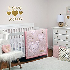 image of Little Love by NoJo® She's So Lovely 4-Piece Crib Bedding Set in Pink