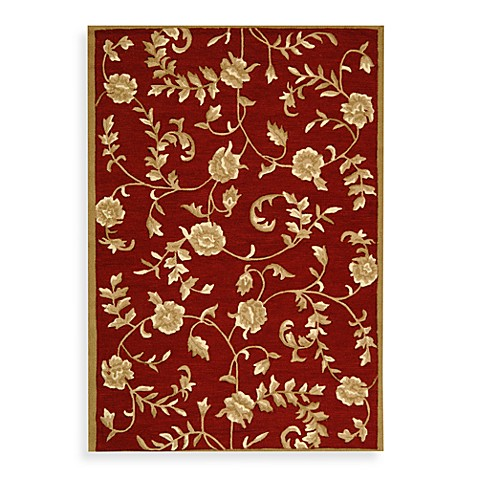 Safavieh Ez Care Floral Accent Rugs In Red Gold Bed Bath