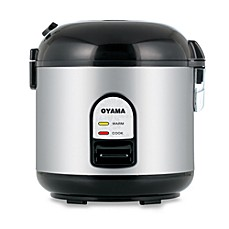 image of Oyama 5-Cup Stainless Steel Rice Cooker