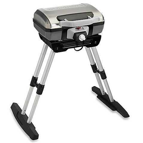 Cuisinart 174 Portable Electric Grill With Stand Bed Bath