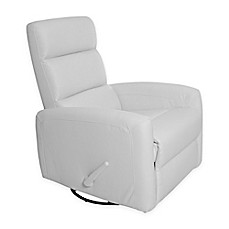 image of Kidiway® Reevo Faux Leather Reclining Glider