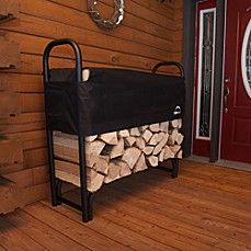 image of ShelterLogic® Covered Firewood Rack